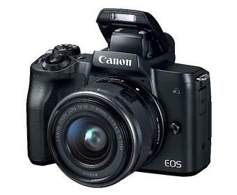 Canon запускает EOS M50, свою первую 4K-зеркальную камеру
