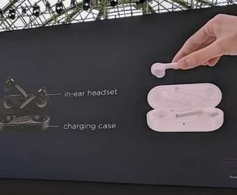 Huawei представила новые наушники FreeBuds, похожие на AirPods