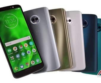Серия Moto G6 может быть выпущена в мае