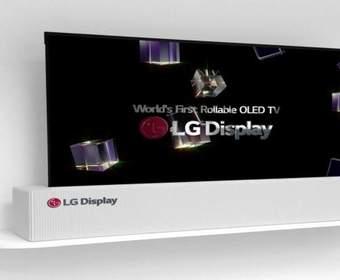 #CES 2018 | Телевизор-«рулон» от LG