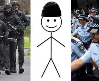Полицейские Австралии розыскивают интернет-мем