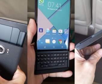 Появились снимки смартфона BlackBerry Venice