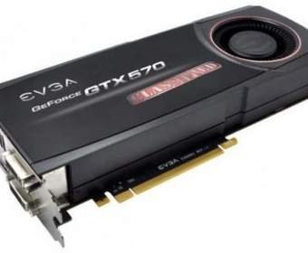 EVGA представила видеокарту GeForce GTX 570 Classified