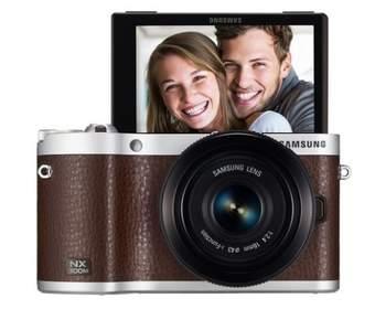Samsung представила первое устройство на ОС Tizen - фотоаппарат NX300M