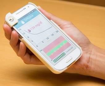 GPhone: чехол на телефон, способный контролировать уровень глюкозы в крови