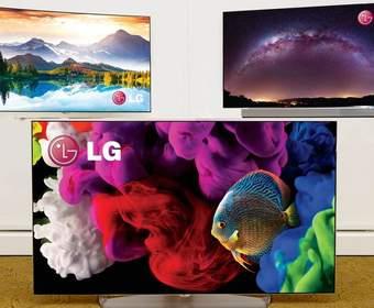 #CES | LG привезла на выставку целый набор OLED-4K-телевизоров