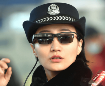 Китайскую железнодорожную полицию вооружили «умными очками»