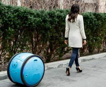 Итальянцы разработали автономного робота-носильщика