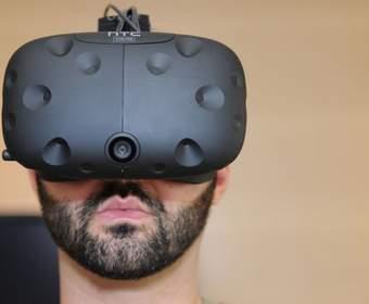 #видео | Каким видит окружающий мир пользователь VR-гарнитуры HTC Vive