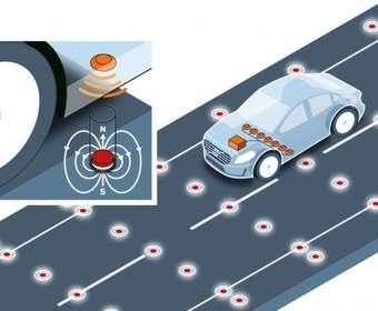 Volvo: Безопасность движения беспилотных автомобилей доверят магнитам