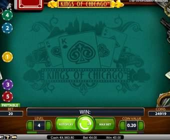 Обзор игрового автомата Kings of Chicago от Вулкан