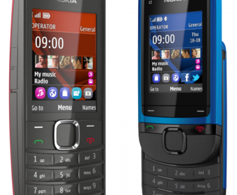 Анонс бюджетных телефонов Nokia C2-05 и Nokia X2-05