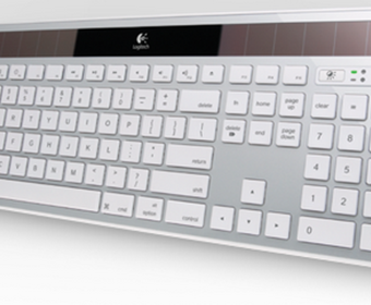 Logitech Wireless Solar Keyboard K750 - новая версия клавиатуры от Apple