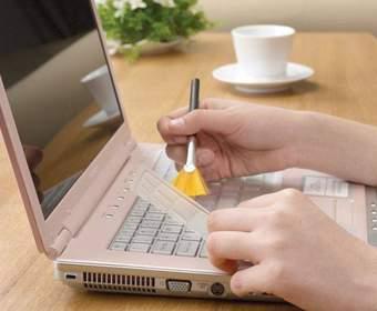 Способы очистки ноутбука от пыли