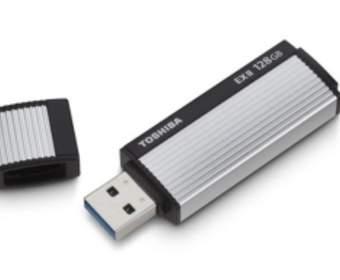 Toshiba представила USB 3.0 Flash Drive с 128 Гб памяти