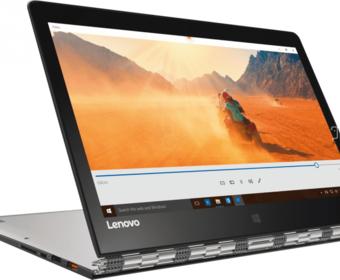 Lenovo Yoga 900 – гибридный ноутбук с 13-дюймовым OHD-дисплеем, процессором Intel Core i7 и 16 Гб оперативной памяти