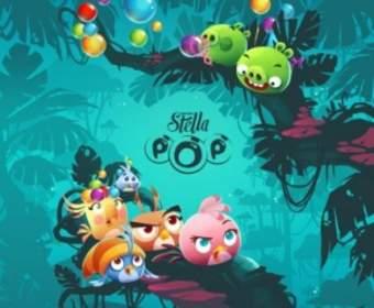 Игра Аngry Birds Stella Pop доступна для скачивания