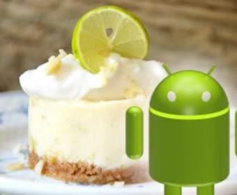 Что можно ожидать от платформы Android 5.0 Key Lime Pie OS