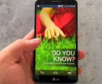 Смартфон LG G2 работает с нано-SIM-картами