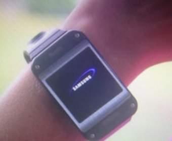 Умные часы Samsung Galaxy Gear появились на фотографии