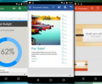 Компания Microsoft опубликовала бета-версию мобильного Office 2016 для операционной системы Android