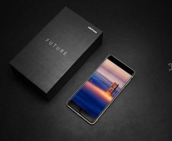 Ulefone Future – первый в мире смартфон с безрамочным дисплеем