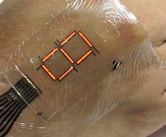 Ученые разработали LED-дисплей, который можно носить прямо на коже