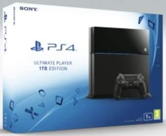 Компания Sony начнет продажи 1 Тб-версии консоли PlayStation 4 с 15 июля