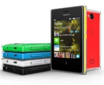 Новые бюджетные смартфоны от Nokia получат названия Asha 500, 502 и 503