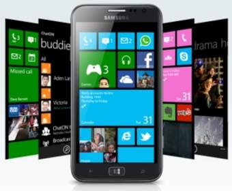 Samsung разработали новый 5-дюймовый смартфон под управлением ОС Windows Phone