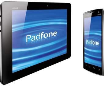 Гибрид планшета и смартфона ASUS Padfone показали в рабочем состоянии