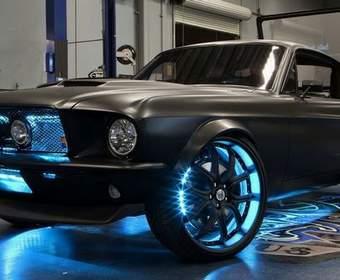 Microstang: как автомобиль Ford Mustang удалось напичкать электроникой на Windows 8 и контроллером Kinect