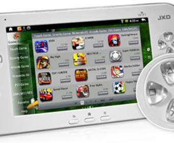 Компания JinXing Digital готовит портативную игровую консоль на базе Android 4.0