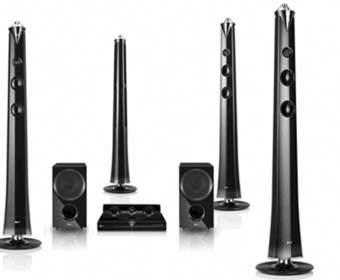 LG HX996TS - домашний кинотеатр с 3D-звуком и двумя сабвуферами