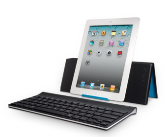 Клавиатура и защитный корпус Logitech для iPad