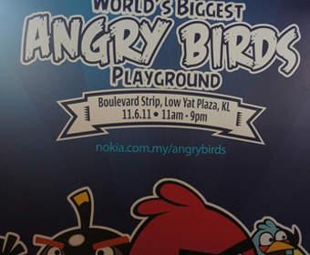 Крупнейшая площадка от Nokia для Angry Birds