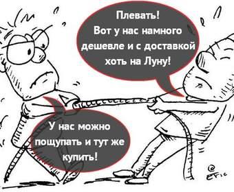 Как часто и как украинцы покупают в обычных и интернет-магазинах?