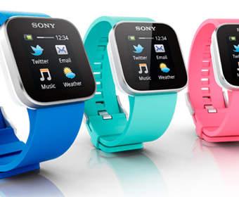 Наручные часы Sony SmartWatch уже в продаже