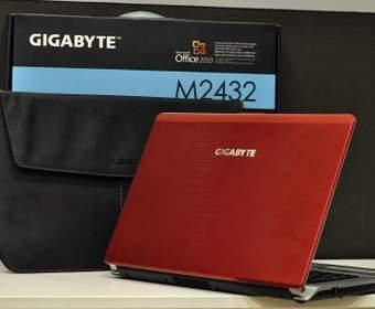 GIGABYTE M2432M: цвет страсти, сталь и мужской характер