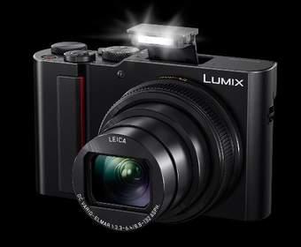 Компактная камера Panasonic ZS200 удваивает масштаб изображения