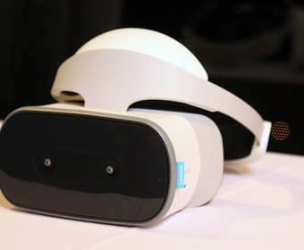 Lenovo представила автономную гарнитуру Mirage Solo для Daydream