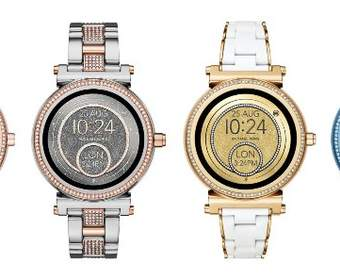 Michael Kors предлагает смарт-часы Android Wear в новых цветовых вариантах