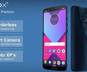 Телефоны Motorola могут включать в себя модели, схожие на iPhone X