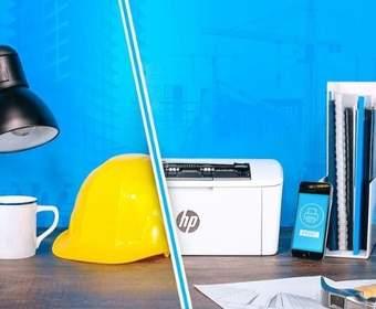 Новые лазерные принтеры HP намного меньше, чем предыдущие модели