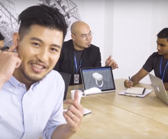 Кольцо Orii превратит палец владельца в гарнитуру для смартфона