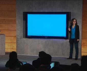 Microsoft Surface Hub — 84-дюймовый 4К-планшет на Windows 10