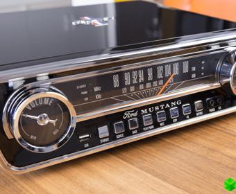 ION Mustang LP — как легендарный Ford, только проигрыватель
