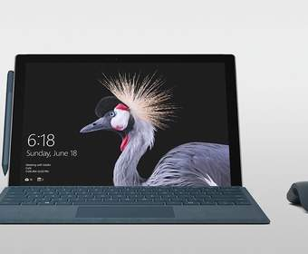 Компания Microsoft представила лэптоп The New Surface Pro