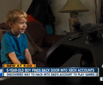 Пятилетний ребёнок обнаружил уязвимость в сервисе Xbox Live