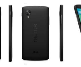 Google выпустила Nexus 5 и представила Android 4.4 KitKat